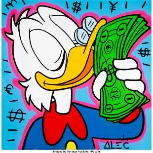 66064: Alec Monopoly (b. 1986) Scrooge McDuck, c. 2013
