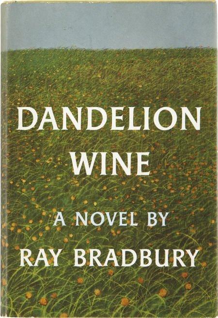 90002: Ray Bradbury. Dandelion Wine. 1st ed. Signed.