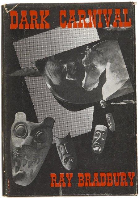 90003: Ray Bradbury Dark Carnival Arkham Signed Bkplate