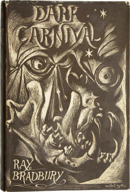 90004: Ray Bradbury. Dark Carnival. 1st British ed.