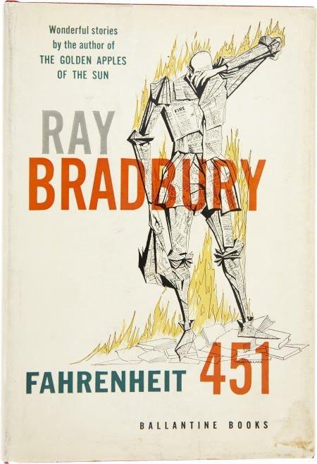 90006: Ray Bradbury. Fahrenheit 451. Author's ed. 1st.