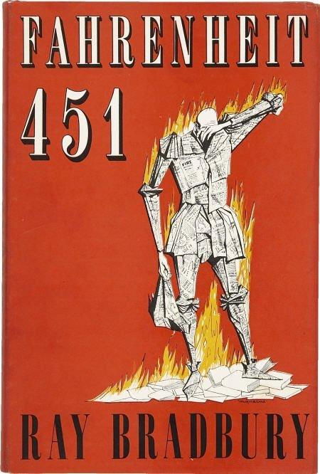 90008: Ray Bradbury. Fahrenheit 451 Signed. 1st British