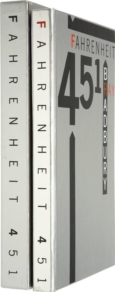 90009: Ray Bradbury. Fahrenheit 451. LEC Signed.