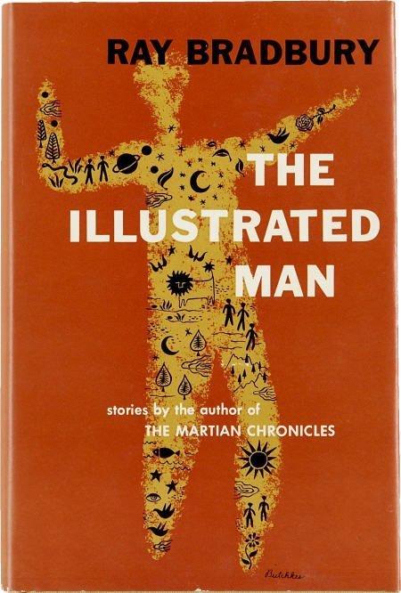 90011: Ray Bradbury. Illustrated Man 1st ed Review copy