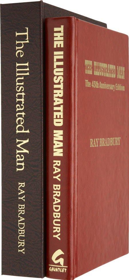 90012: Ray Bradbury. Illustrated Man, 45th Anniv Signed