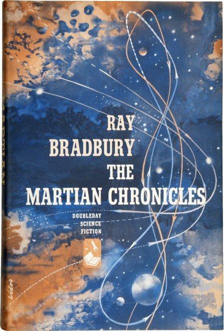 90013: Ray Bradbury. Martian Chronicles. Inscribed 1st