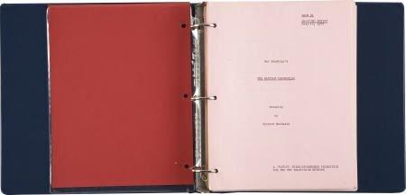90014: Bradbury & Matheson Martian Chronicles Script