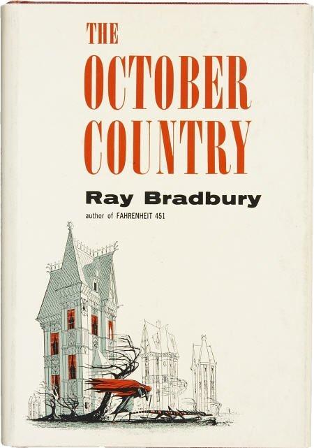 90016: Ray Bradbury. October Country. 1st ed. Inscribed