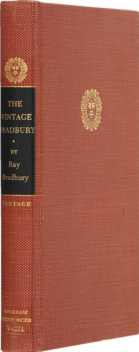 90020: The Vintage Bradbury. Signed 1st edition. 1965.