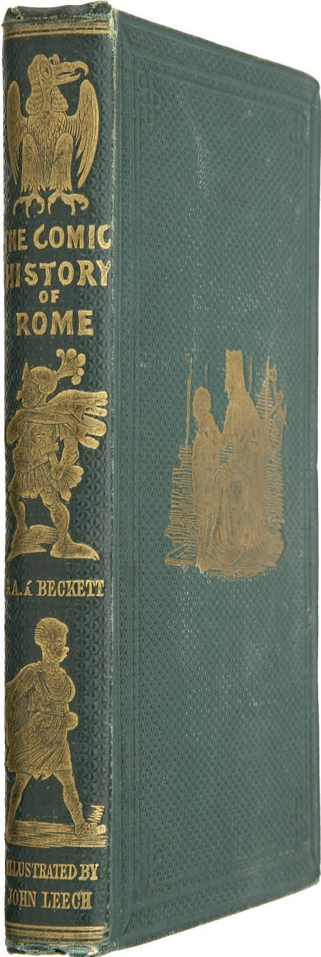 92006: Gilbert Abbott Á Beckett. Comic History of Rome