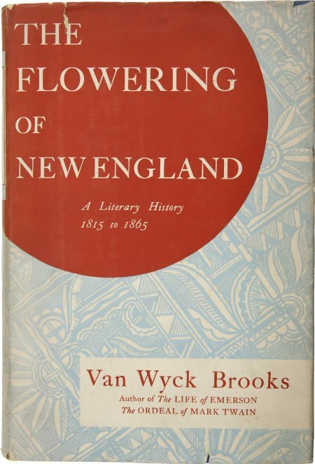 92015: Van Wyck Brooks. Flowering of New England. + ALS