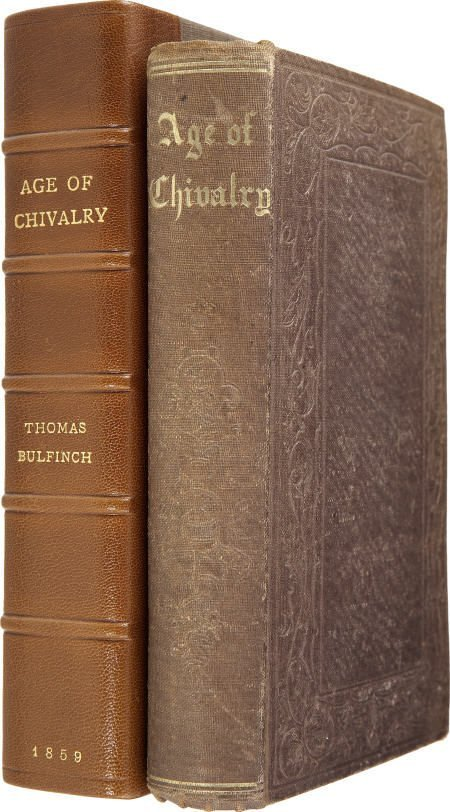 92016: Thomas Bulfinch. The Age of Chivalry. 1859