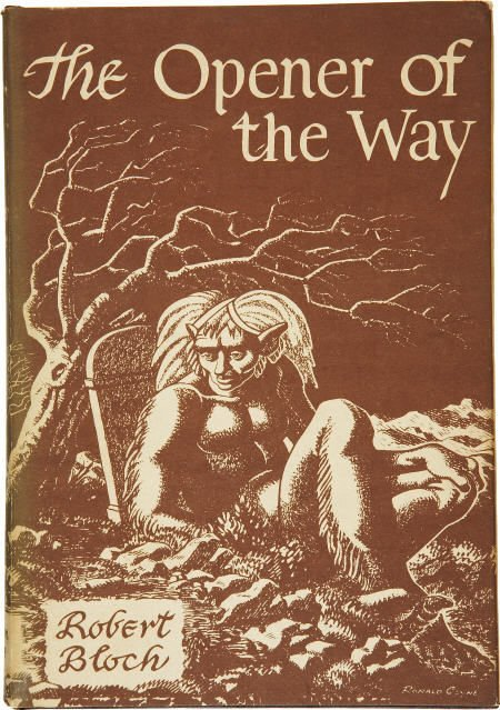 92289: Robert Bloch. Opener of the Way. Arkham House.
