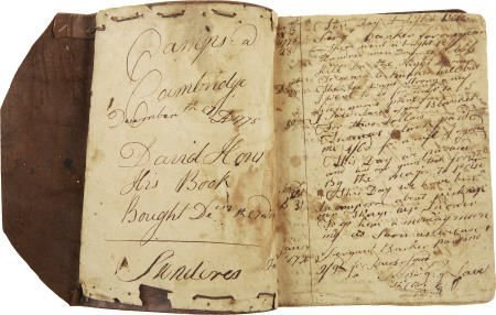 35001: Rev. War Soldier's Diary