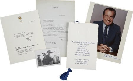 36052: Collection of Presidential Items.