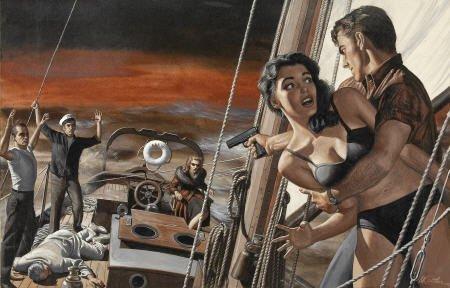 87011: MORT KÜNSTLER (American b. 1931) I'm Taking Over