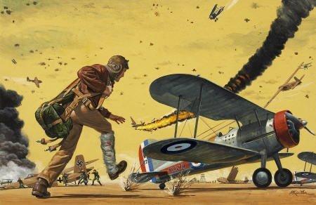 87021: MORT KÜNSTLER (American b. 1931) The Ace, Yankee
