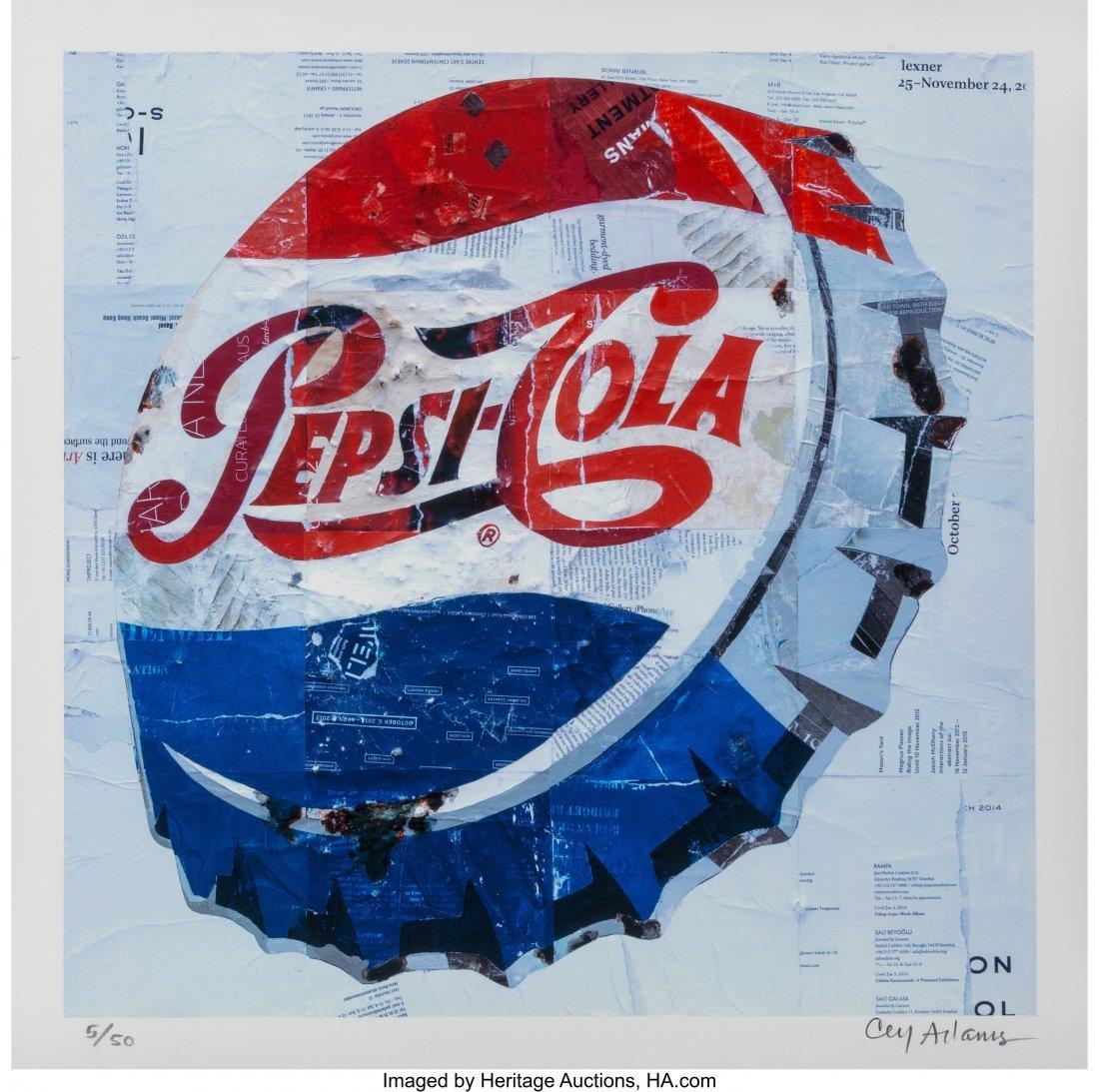 42002: Cey Adams (b. 1962) Pepsi, 2015 Archival pigment