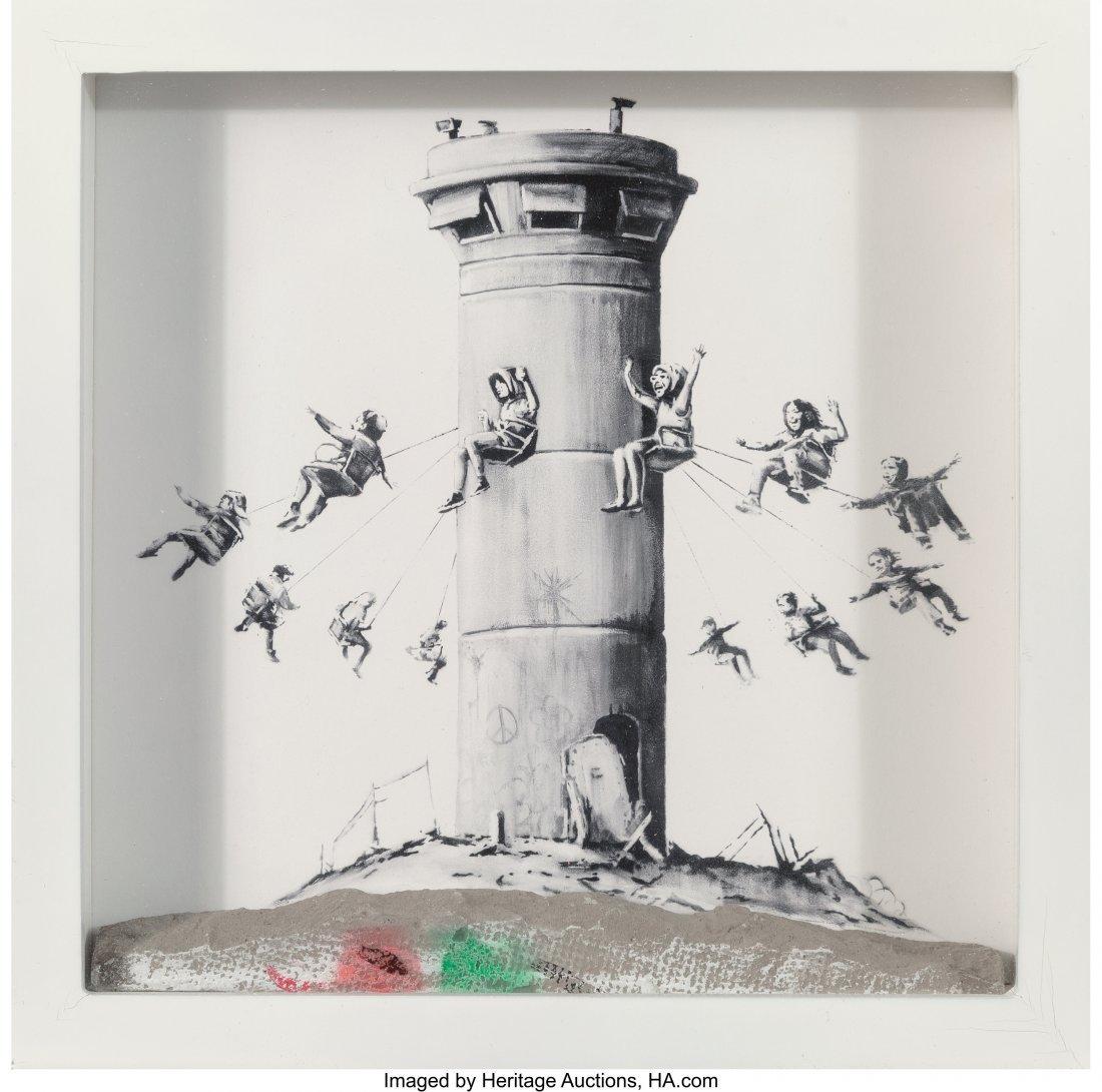 42013: Banksy (b. 1974) Walled Off Hotel Box, 2017 Lith