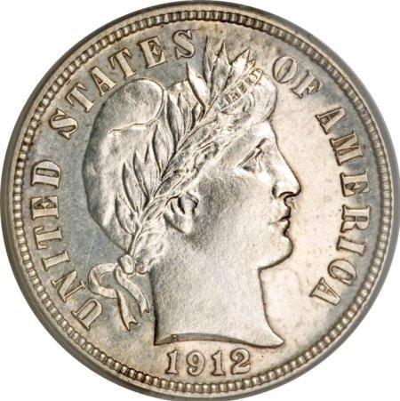 1158: 1912 1C Proof Set PCGS CAC.