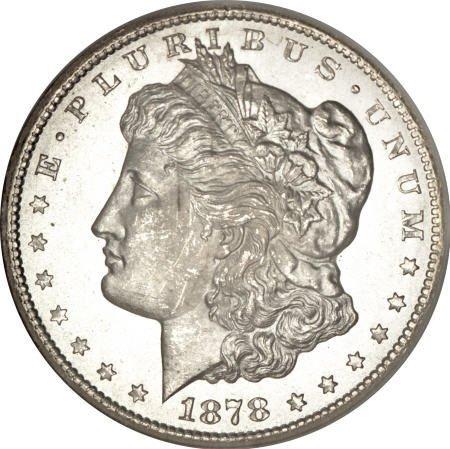 1166: 1878-CC $1 MS66 NGC.