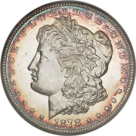 1167: 1878-S $1 MS67 <S NGC.