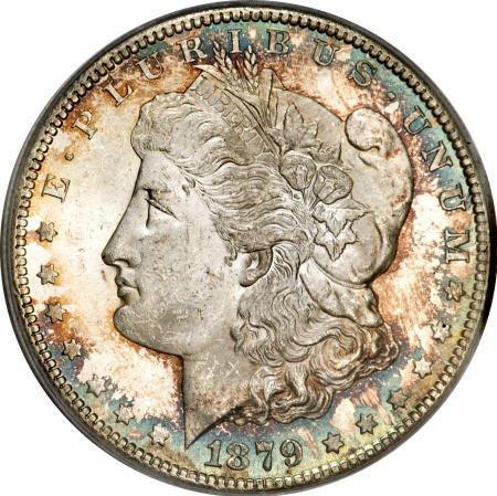 1170: 1879-CC $1 MS63 PCGS.