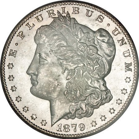 1172: 1879-CC $1 MS64 PCGS. CAC.