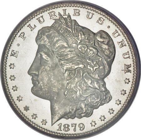 1173: 1879-CC $1 MS65 PCGS.