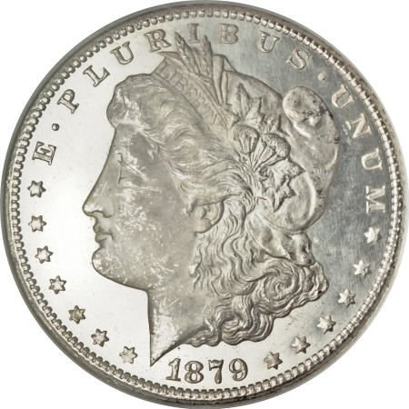 1174: 1879-CC $1 MS65 <S Prooflike NGC.