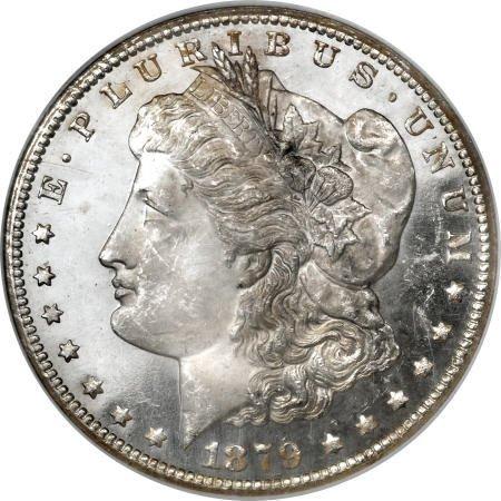 1175: 1879-CC $1 MS64 Deep Mirror Prooflike NGC.