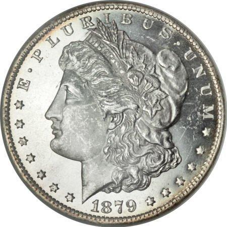 1178: 1879-O $1 MS65 Deep Mirror Prooflike NGC.