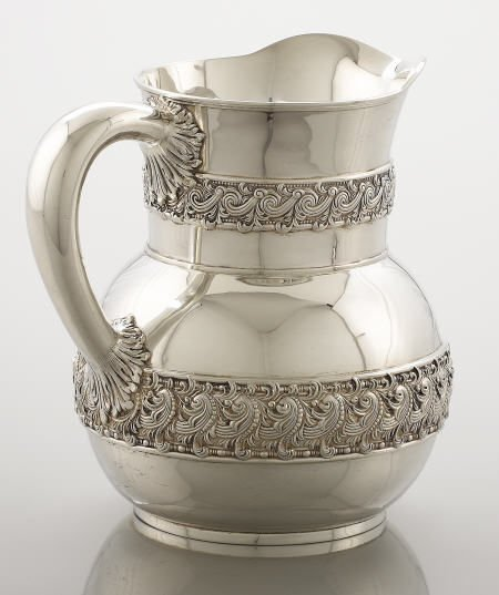 71022: Tiffany & Co. Silver Water Pitcher