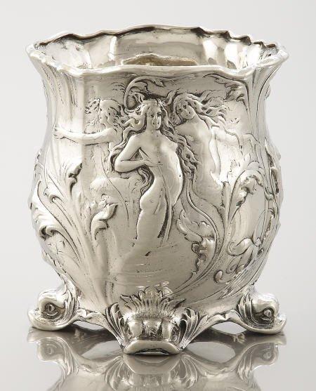 71494: A Gorham Silver Vase