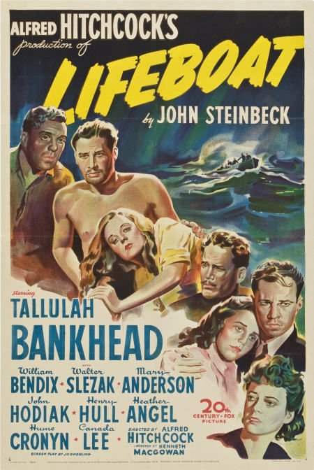 85008: Lifeboat (20th Century Fox, 1944). One Sheet