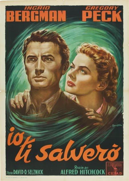 85011: Spellbound (United Artists,1954). Italian