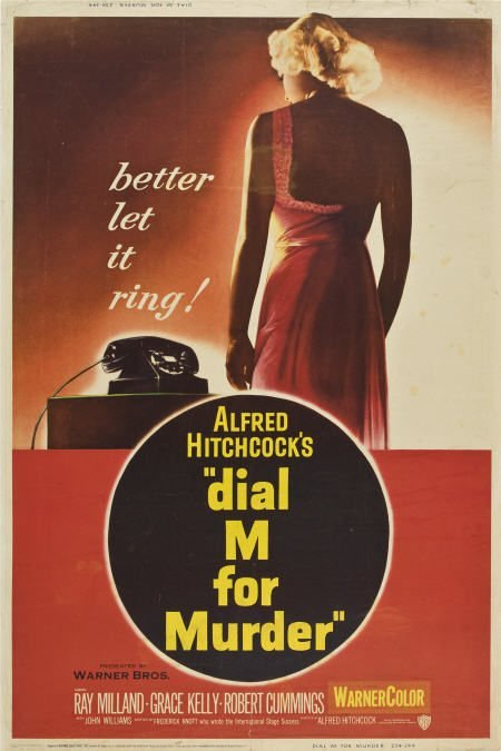 85014: Dial M For Murder (Warner Brothers, 1954).