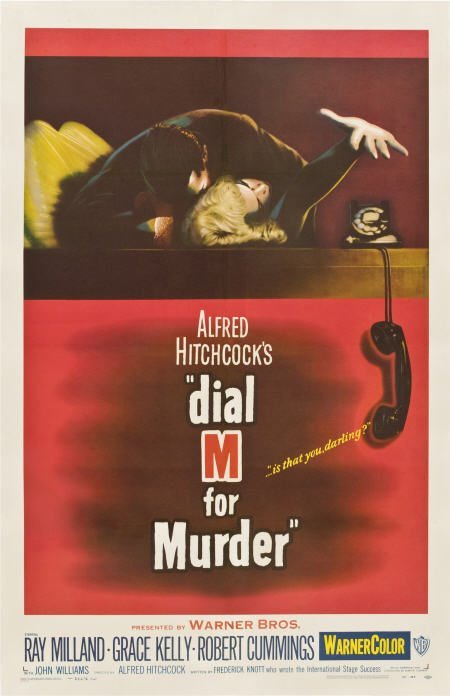 85015: Dial M For Murder (Warner Brothers, 1954). One