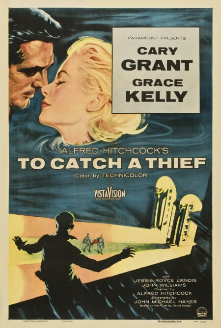 85017: To Catch a Thief (Paramount, 1955). One Sheet