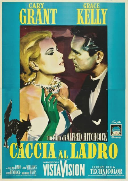 85018: To Catch a Thief (Paramount, R-1964). Italian 4