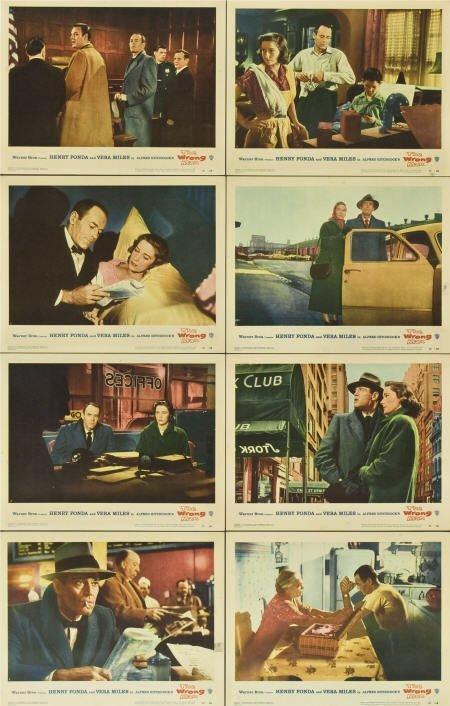 85020: The Wrong Man (Warner Brothers, 1957). Lobby