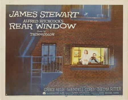 "85024: Rear Window (Paramount, 1954). Half Sheet (22"" X"