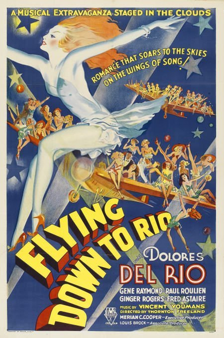 "85506: Flying Down to Rio (RKO, 1933). One Sheet (27"" X"