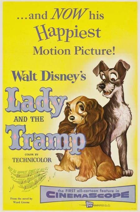 85737: Lady and the Tramp (Buena Vista, 1955). One