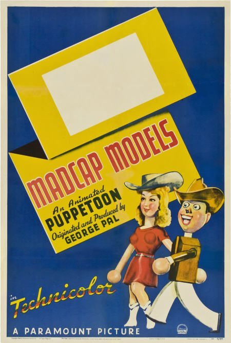 "85743: George Pal Puppetoon Stock ""Madcap Models"""