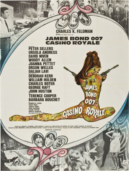85749: Casino Royale (Columbia, 1967). French Grande