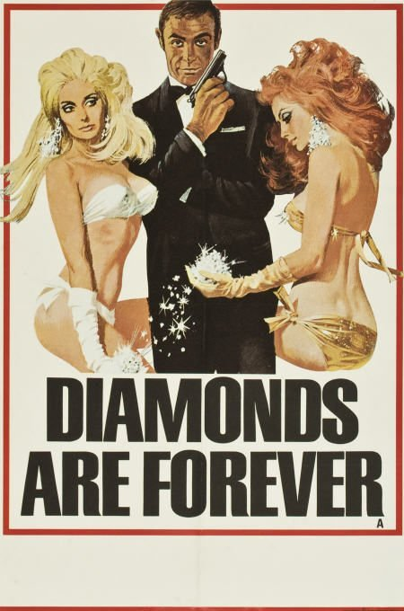 85753: Diamonds Are Forever (United Artists, 1971).