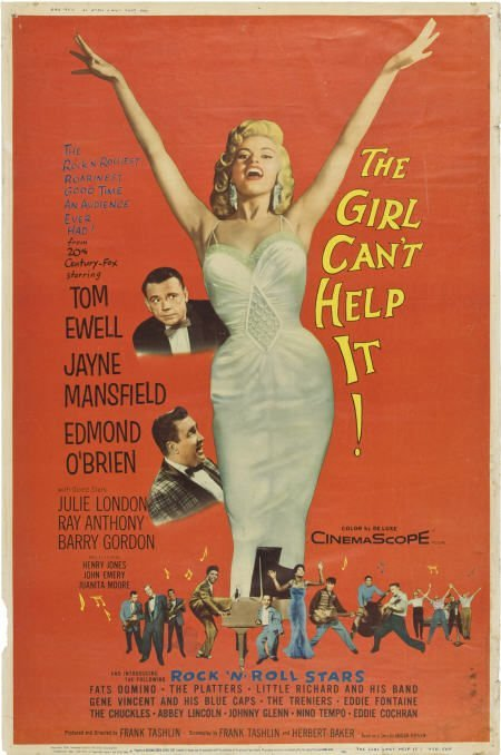 85851: The Girl Can't Help It (20th Century Fox, 1956).