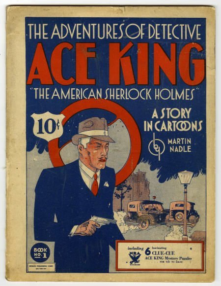91004: Adventures of Detective Ace King Book 1 1933