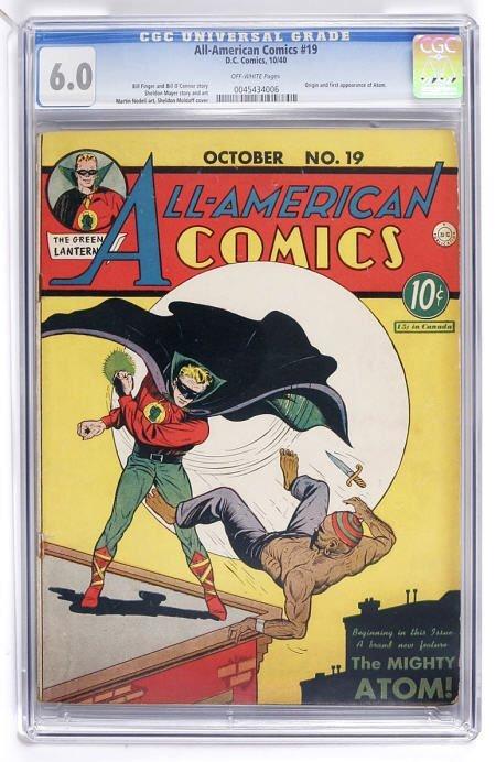 91006: All-American Comics #19 (DC, 1940) CGC FN 6.0